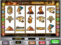 Play Serpent's Treasure Slots